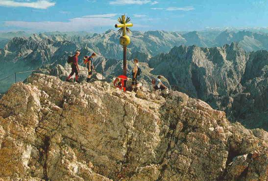 Klettersteigset Zugspitze : Carsten subbe solobesteigung zugspitze